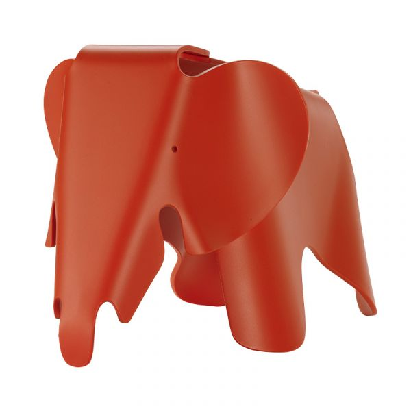 Vitra Eames Elephant Chair Poppy Red