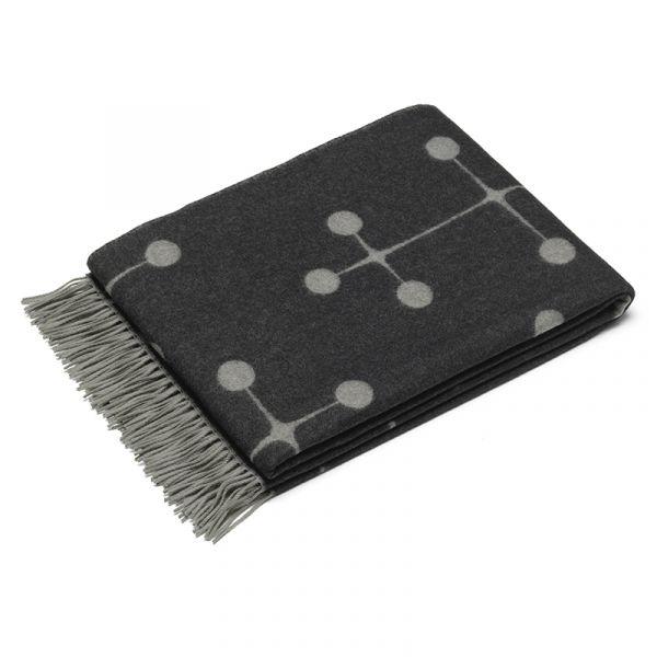 Vitra Eames Wool Blanket Black