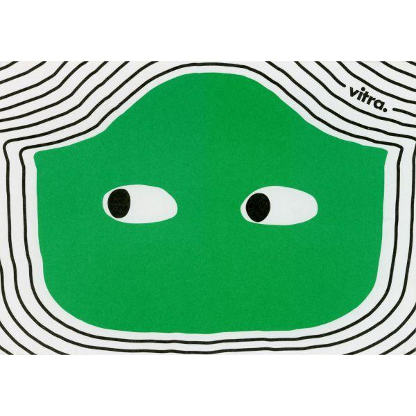 Vitra Eames Plastic Chair Postcard Green Armchair