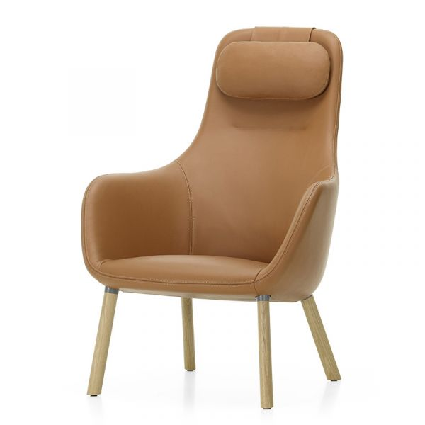 Vitra HAL Lounge Chair With Integrated Seat Cushion