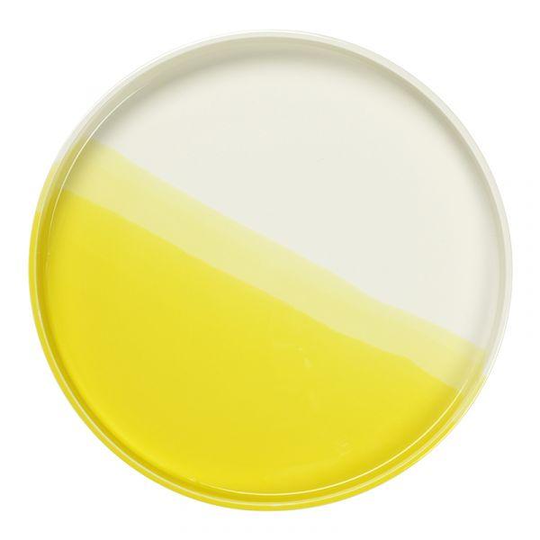 Vitra Herringbone Vessels Tray Yellow