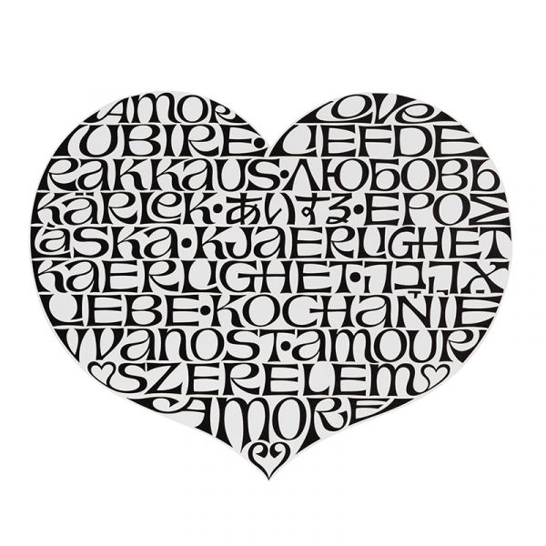 Vitra Metal Wall Relief International Heart