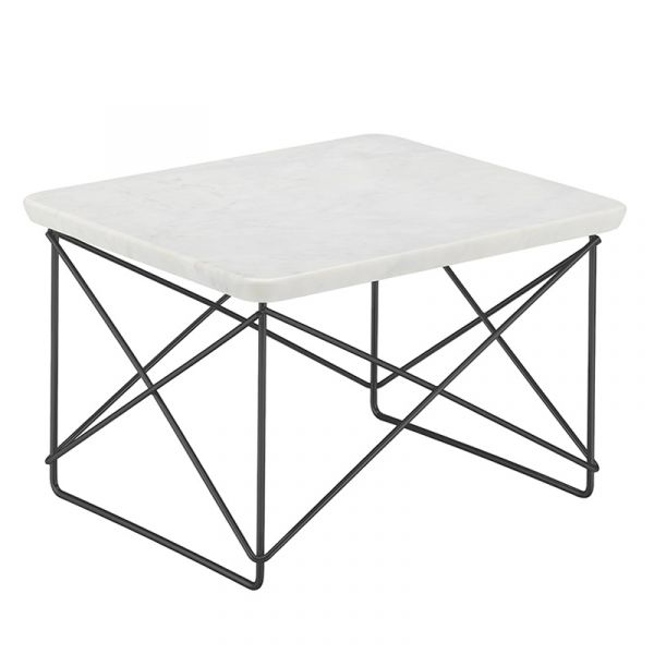 Vitra LTR Occasional Table Marble Base Black