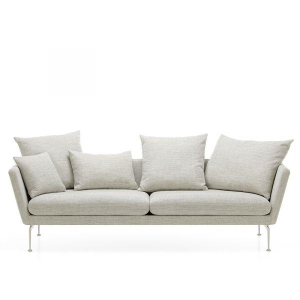 Vitra Suita Sofa 3-Seater Pointed Cushions