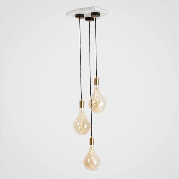 Tala Voroni II Brass Pendant Light