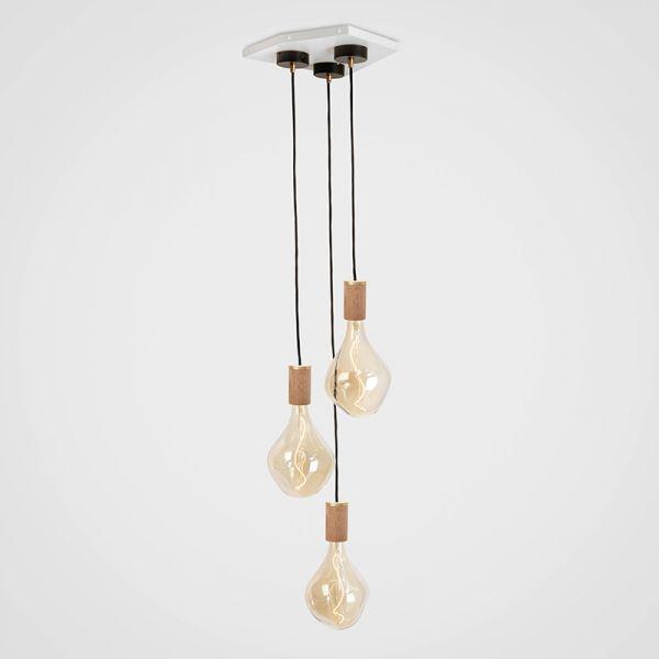 Tala Voroni II Oak Pendant Light