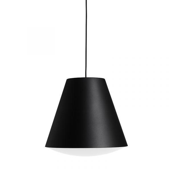Hay Sinker Pendant Light L Signal Black