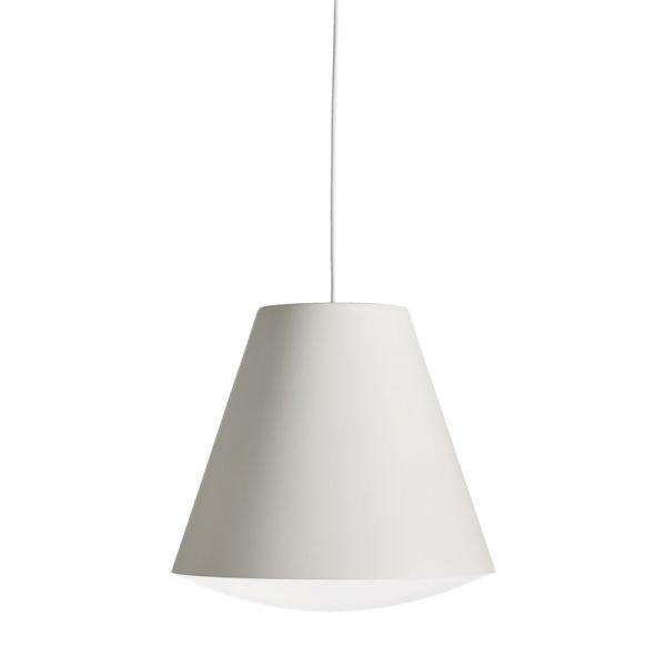 Hay Sinker Pendant Light L White