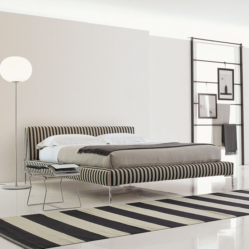 b b italia lc180 charles bed for 180x200cm mattress