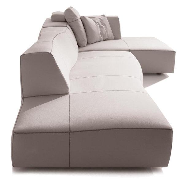 b b italia bend sofa comp a. Black Bedroom Furniture Sets. Home Design Ideas