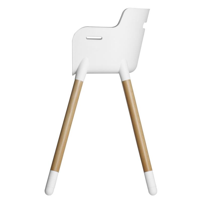 Flexa High Chair Beech