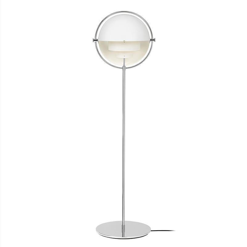 Gubi Multi-Lite Floor Lamp Chrome