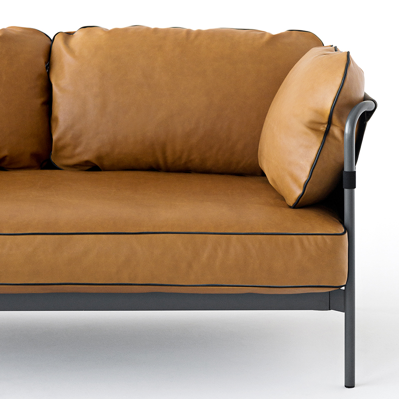 hay can 2 seater sofa ronan erwan bouroullec. Black Bedroom Furniture Sets. Home Design Ideas