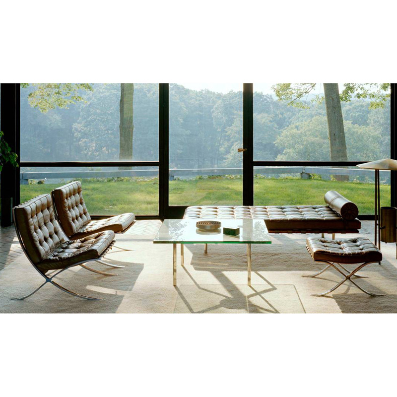 knoll barcelona chair relax