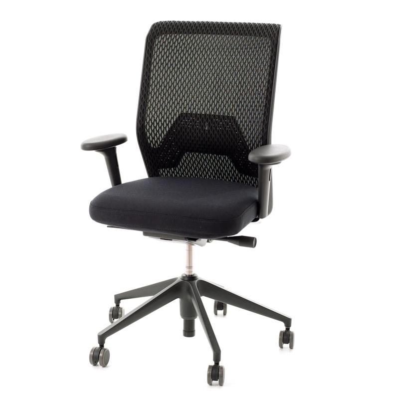 vitra id mesh office chair with 2d armrests backrest. Black Bedroom Furniture Sets. Home Design Ideas
