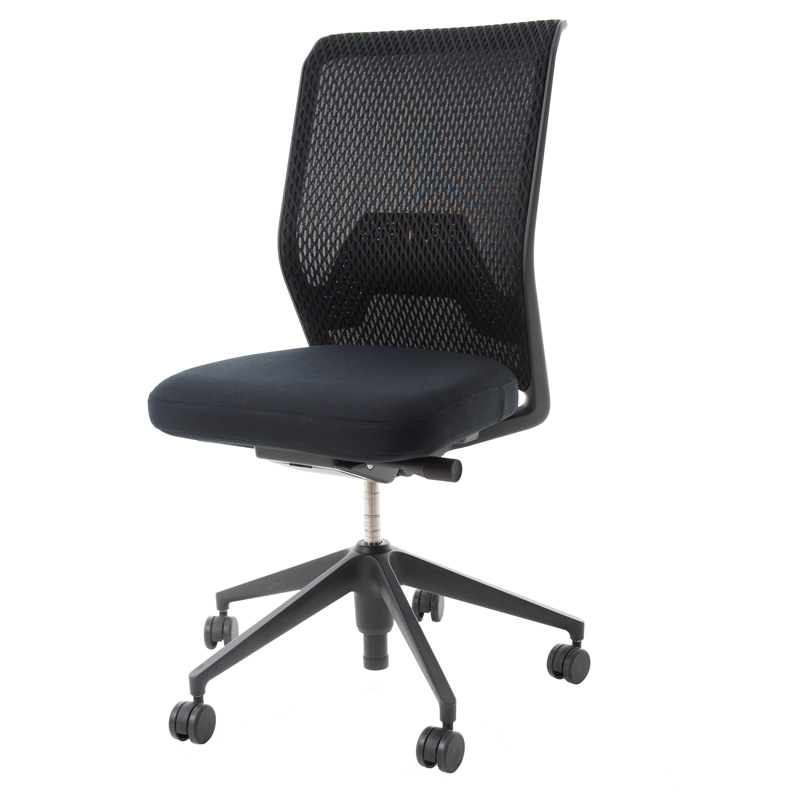 vitra id mesh office chair backrest diamond mesh seat. Black Bedroom Furniture Sets. Home Design Ideas