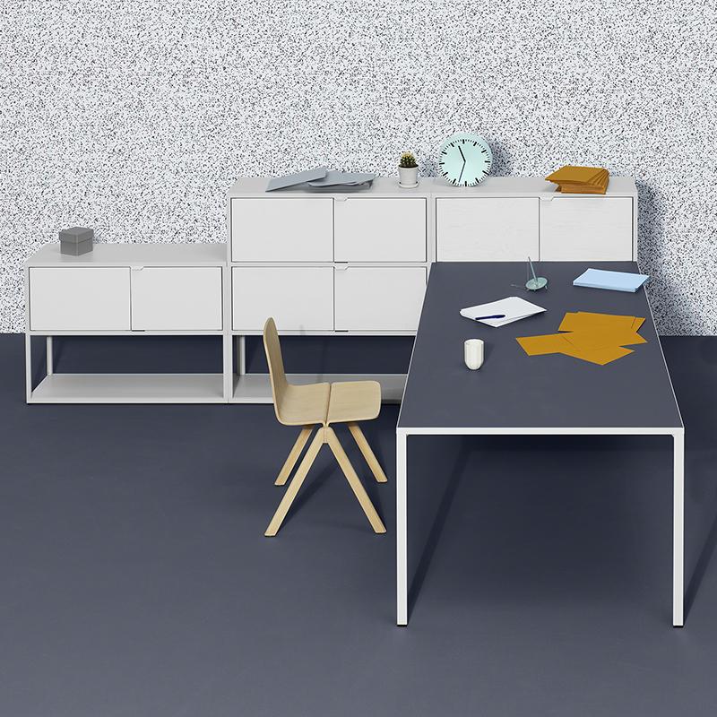 hay new order custom configuration 01 light grey stained light grey ash. Black Bedroom Furniture Sets. Home Design Ideas