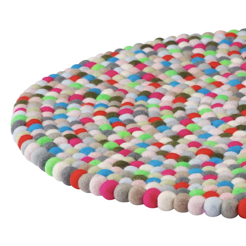 hay pinocchio rug pink 90cm diameter. Black Bedroom Furniture Sets. Home Design Ideas