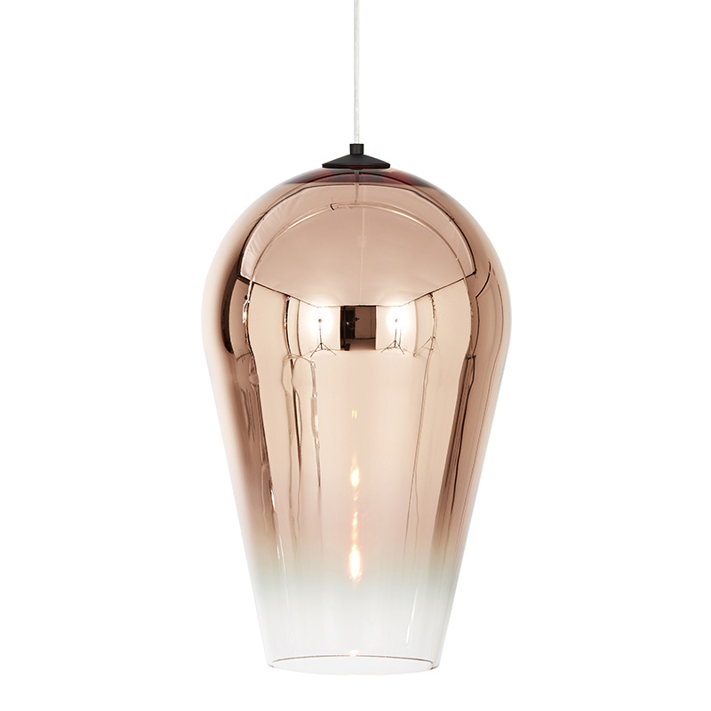 Tom Dixon Fade Pendant Light Copper 50cm