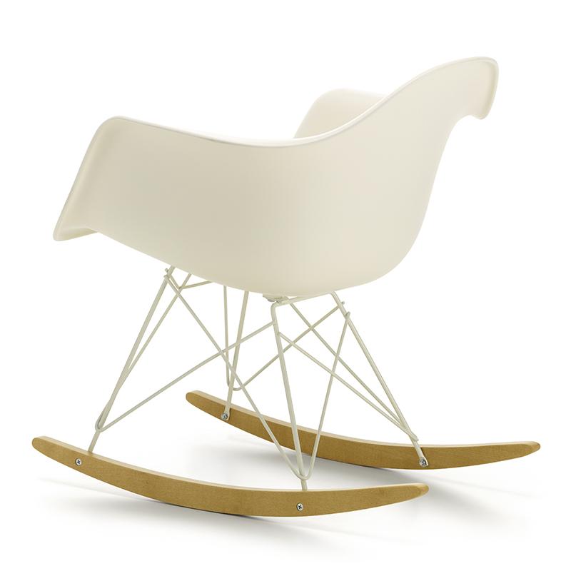 vitra eames rar rocking chair limited edition white