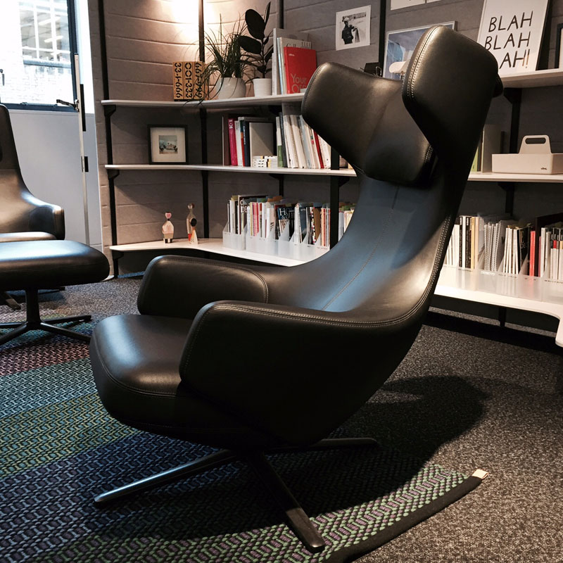 vitra grand repos lounge chair. Black Bedroom Furniture Sets. Home Design Ideas